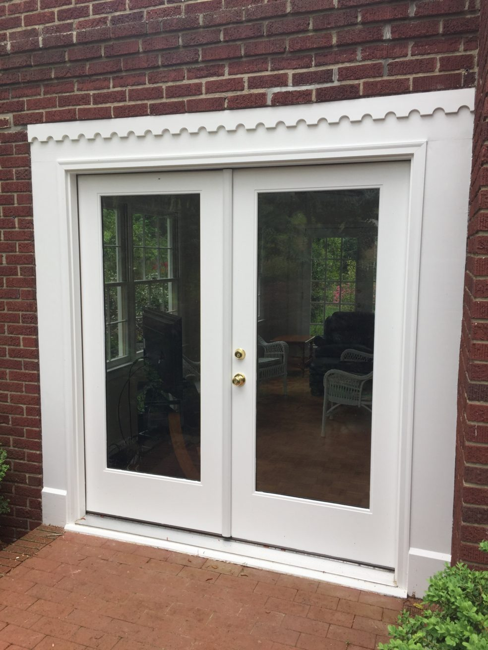 This client is an old friend who wanted to replace a very old set of French doors. It was a fairly straightforward project but with a few challenges. & New French Doors \u0026 Trim! | Old Raleigh Carpentry